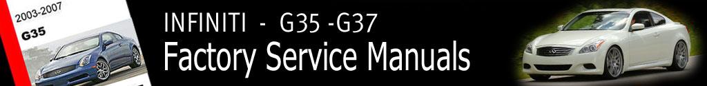 Infiniti G35 G37 Q40 Factory Service Manual