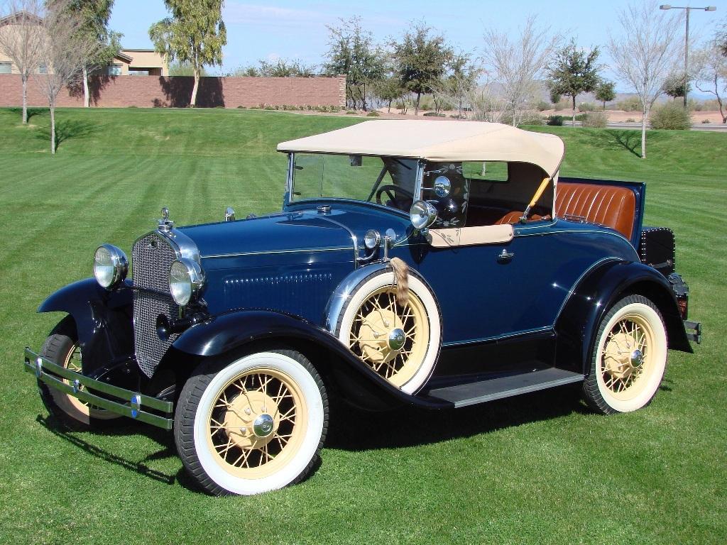 1931 Model A Deluxe Roadster