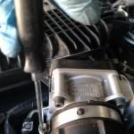 Throttle body screw