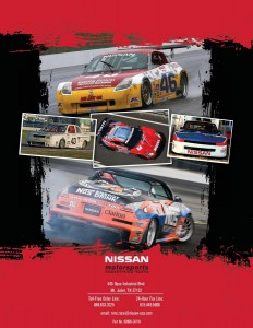 Nissan Motorsports [NISMO] Competition Parts Catalog 2010