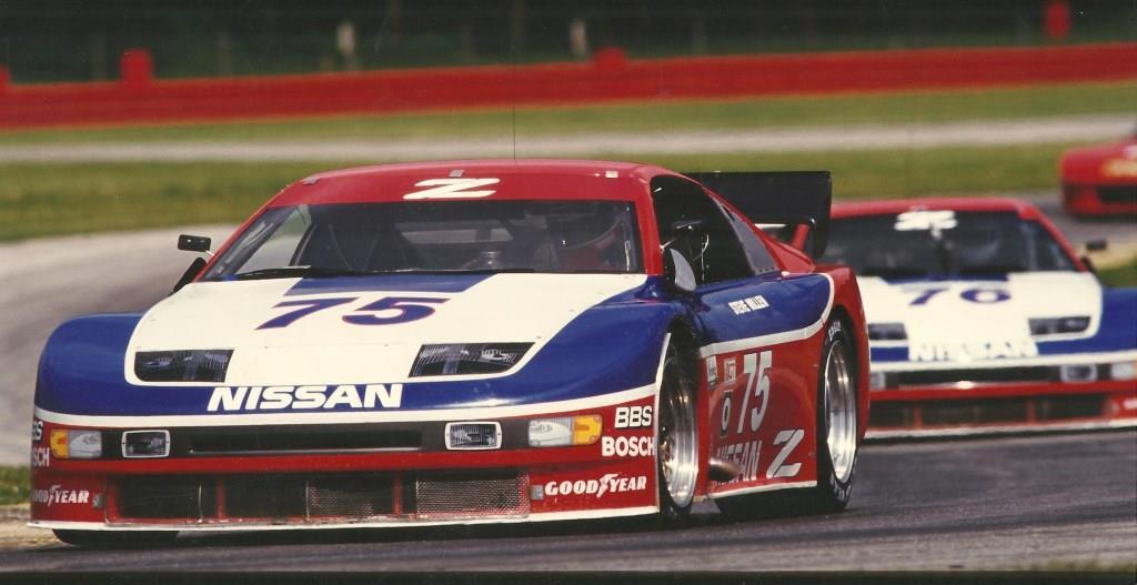 IMSA GTO team  of 300 ZX turbo cars