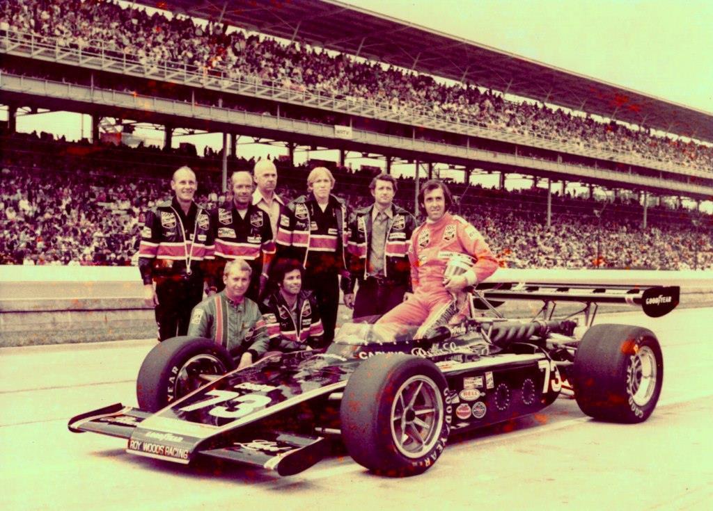 Indy 1973 Kas Kastner David Hobbs