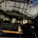 exhaust mock up