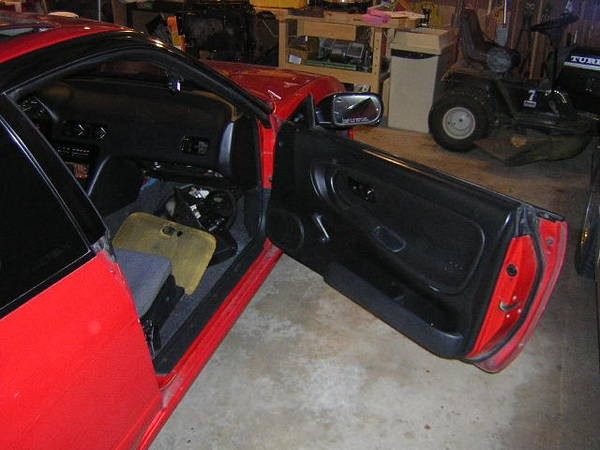 240sx Removing S13 Door Panel Fabric