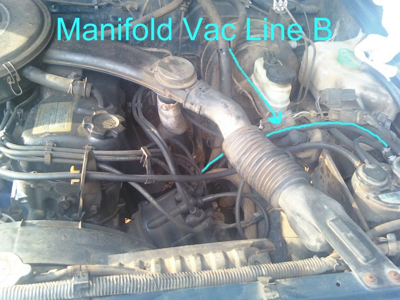 Nissan 720 Pickup Truck Vacuum Hose Routing