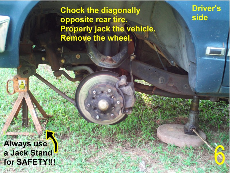 Nissan 720 Pickup Ball Joint Replacement