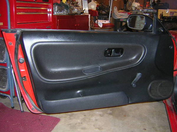 240sx S13 Door Panel Reupholstering Diy