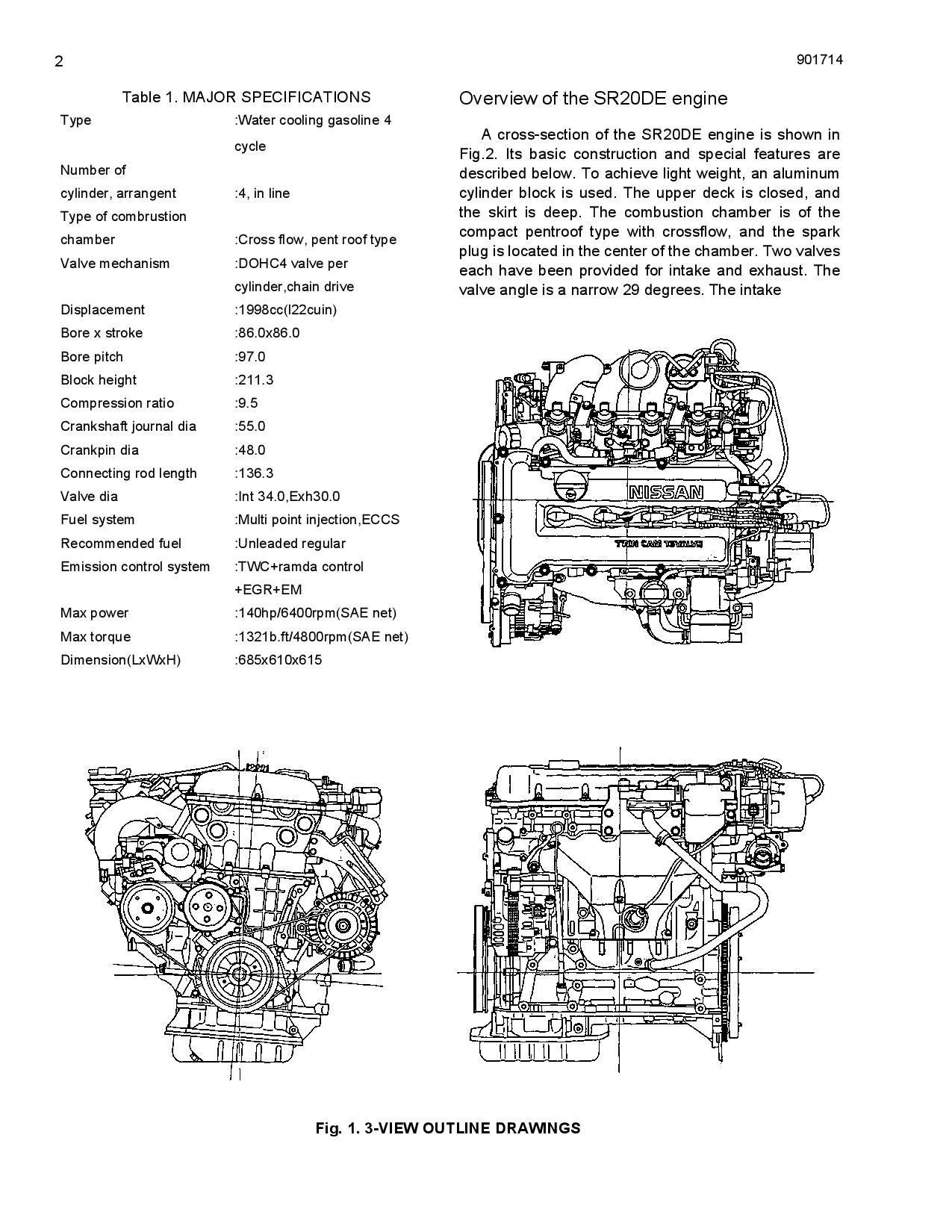 Sr20de Engine Diagram