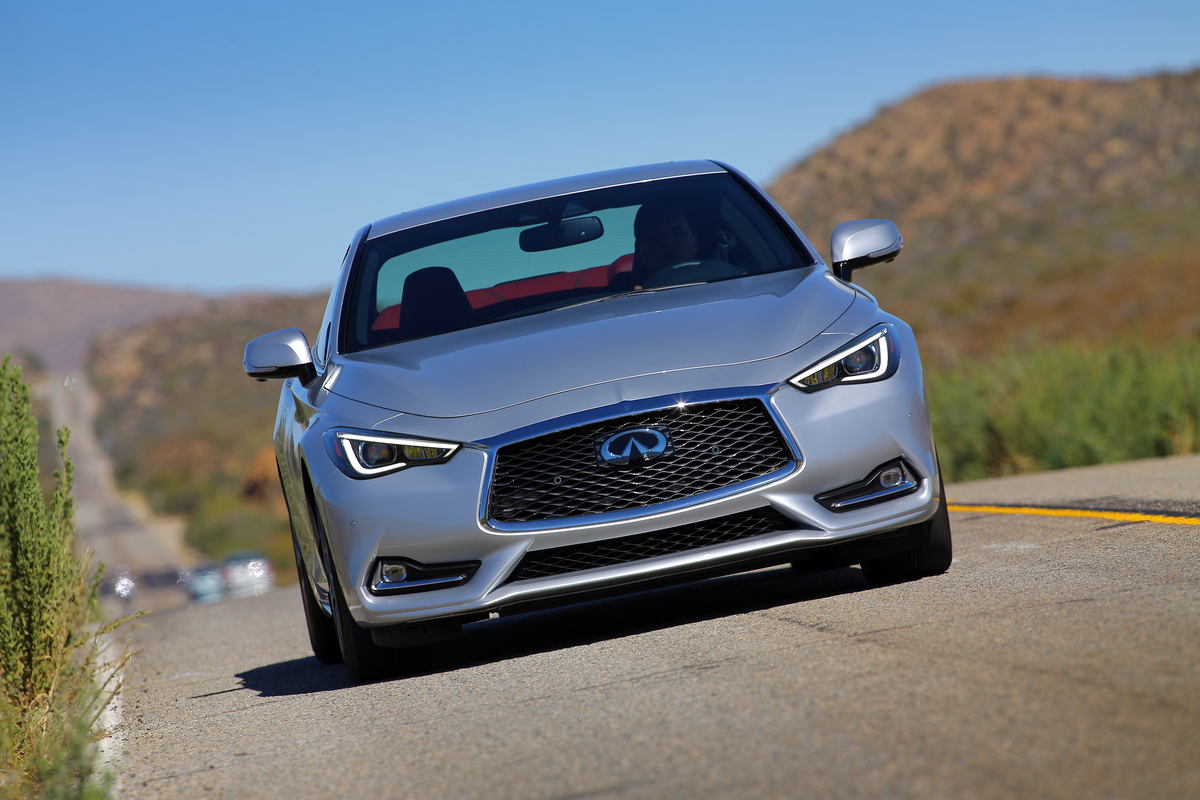 Infiniti Q60 RS400 front view