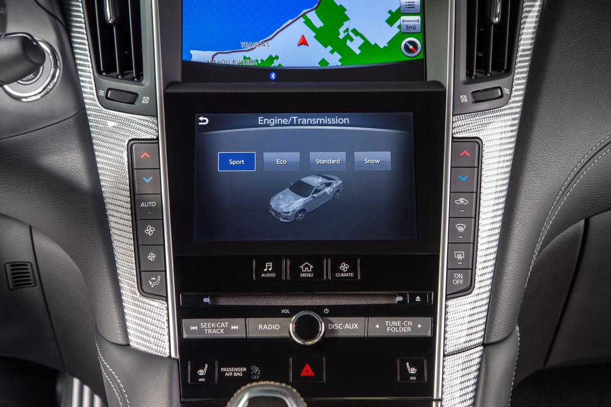 Infiniti Q60 driver assistance