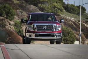 2017 Nissan Titan and Armada: the Gas-Powered Giants