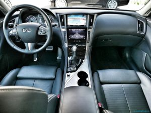 Infiniti Q50 Red Sport Review Part 2