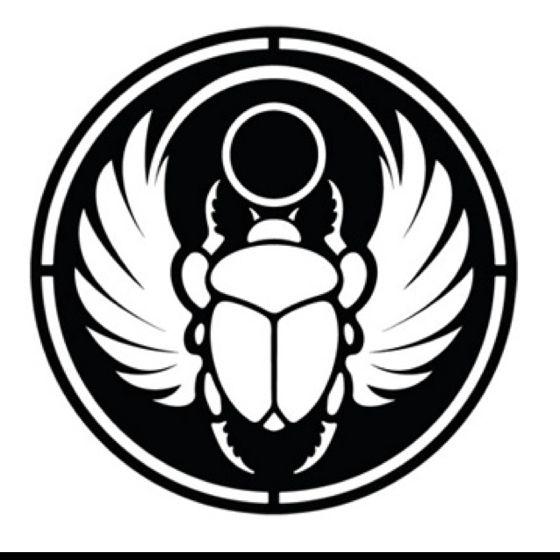 scarab emblem