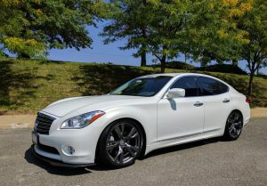 SCALE suspension installation / review on Infiniti M37x